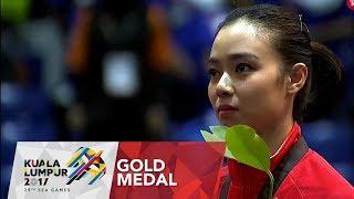 Wushu 武术 Womens Taijijian 太极剑 Victory Ceremony |