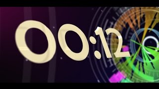 Countdown Timer 30 sec ( v 512 ) NEWS Theme Remix - nr 2 Equalizer - Music Visualizer - effects 4k