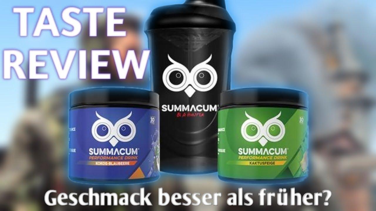NEUER Summacum Gaming Booster | Taste Review | BURN Gaming
