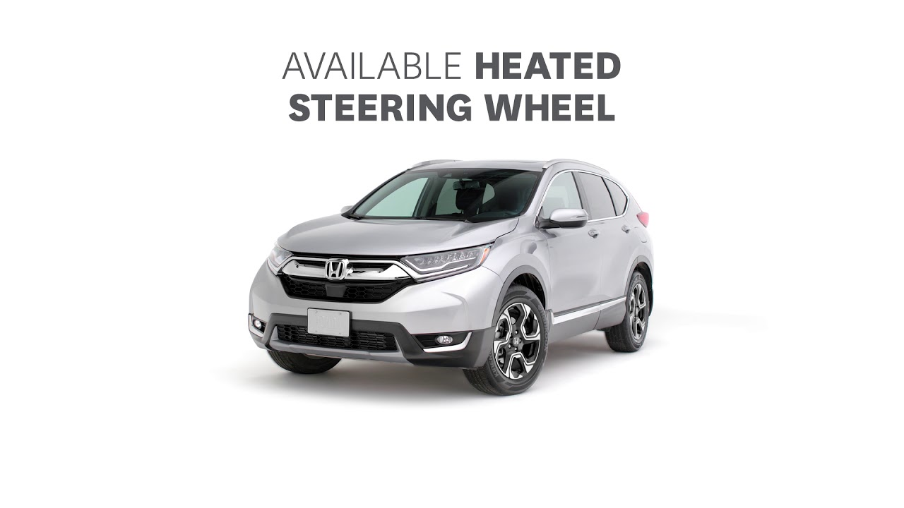 2018 Honda Cr V Heated Steering Wheel Youtube