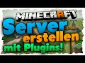 Minecraft 1.8 Server mit Plugins erstellen (ohne Hamachi) kostenlos - Bukkit/Spigot