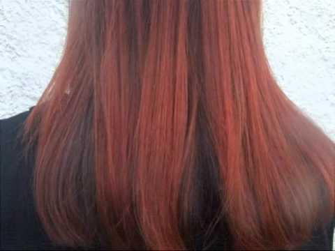 Très Techniques de mèches le tie & dye : crépages sur cheveux longs  XQ39