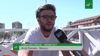 Entrevista en Pinamar a Andrés Pomato
