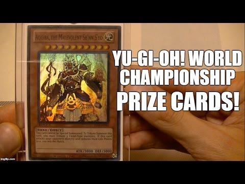 Yu-Gi-Oh! World Championship Prize Cards Replica! Match Winners!