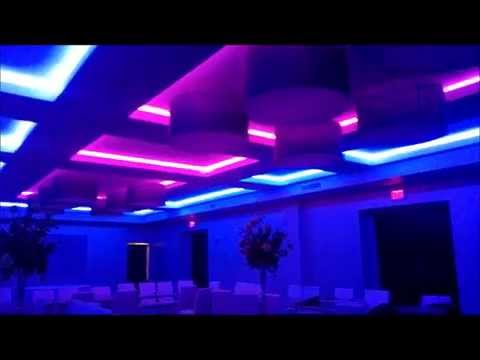 LED Interior Designs  City Grill Rochester NY