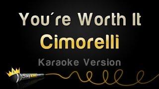 Cimorelli - You're Worth It (Karaoke Version)