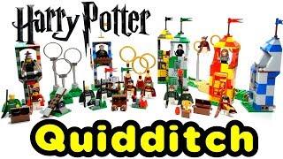 LEGO Quidditch Practice Match 2002 - 2018 Comparison Harry Potter Collection