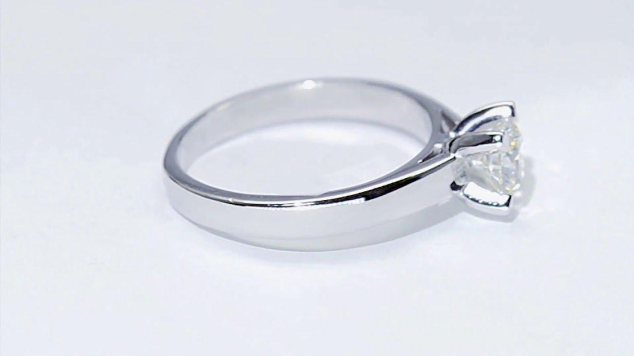 c84850b54ad9 Anillos De Compromiso Oro Blanco Pandora