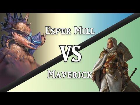 Esper Mill vs. Maverick (Legacy)