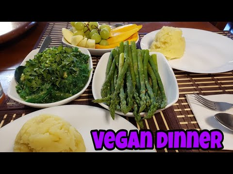 How to make simple vegan dinner//live healthy