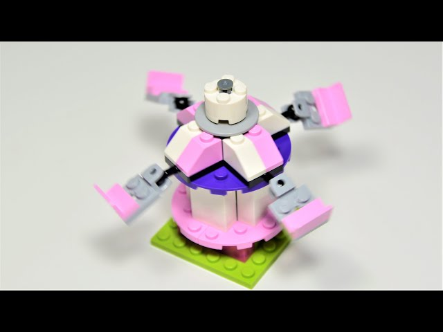 Lego Classic Fairground Carousel |Lego LEGO Classic 10712 Bricks and Gears set|How to build Carousel