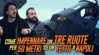 The Jackal - Come IMPENNARE UN TRE RUOTE per 50 metri su un TETTO di Napoli