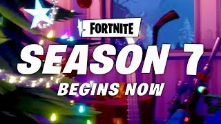 BANDE-ANNONCE DE LA SAISON 7 DE LA SAISON 7! Fortnite Battle Royale Saison 7 LEAKED ANNOUNCE TRAILER - Fan-Made / Concept