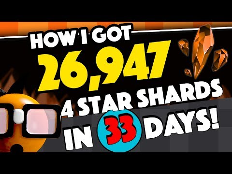 How I Got 26,947 Four Star Shards in 33 Days