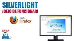 silverlight sat firefox