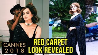 Cannes 2018: Kangana Ranaut REVEALS Her Red Carpet Look, REACTS On Black Saree Look