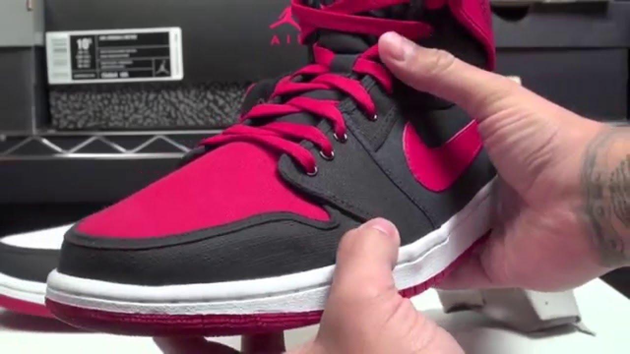 timeless design f80c3 4222e Air Jordan 1 (I) K.O. 2012 QS Bulls Pack (White Black-Varsity Red + Black Varsity  Red-White)
