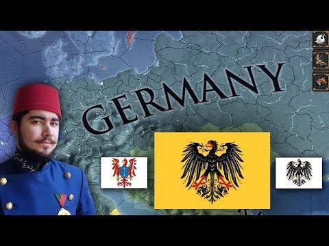 Europa Universalis 4 - Brandenburg, Prussia, Germany Timelapse 1444-1821