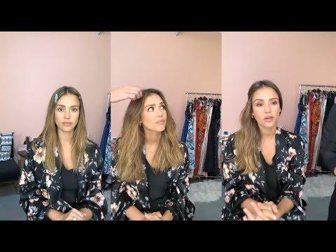 Jessica Alba  Instagram Live Stream  11 July 2018