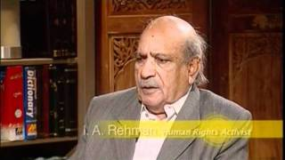 Urdu Guftugu with IA Rehman, Human Rights Commission Pakistan