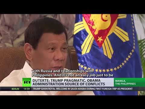"""""""Fighting China would be a massacre!'   Duterte to RT INTERVIEW"""