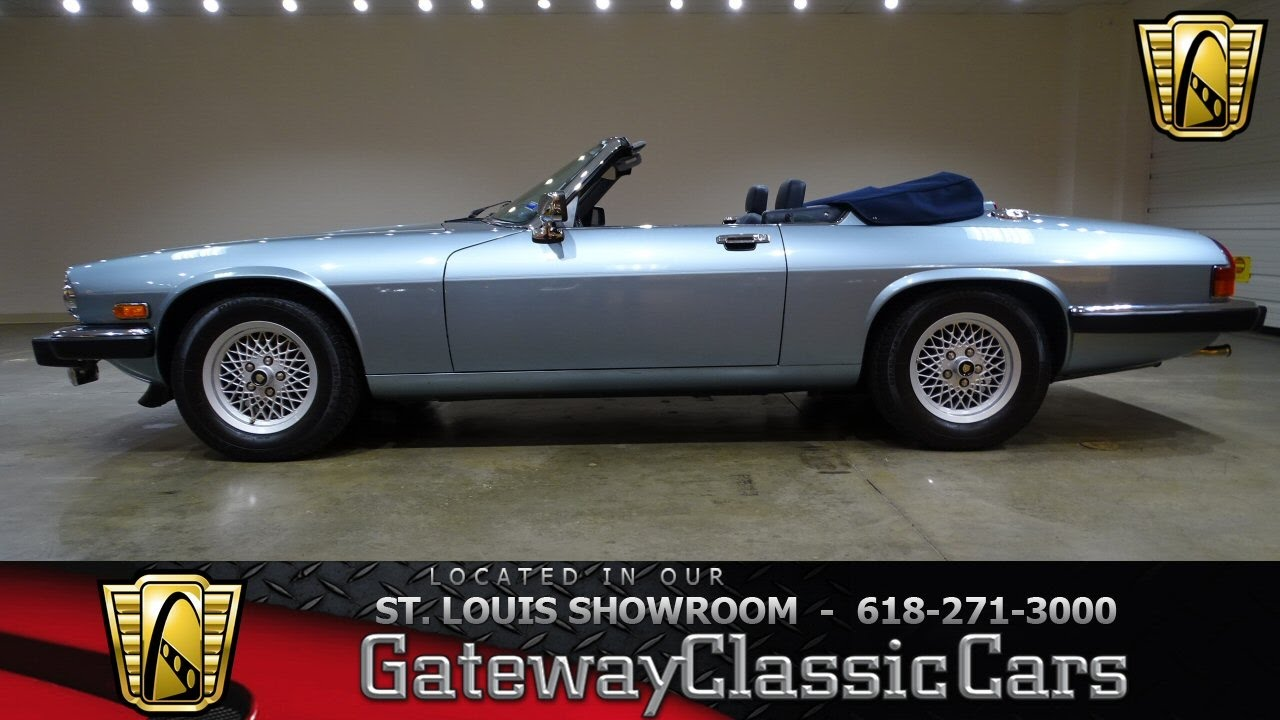 7305 1990 Jaguar Xjs V12 Gateway Clis Cars Of St Louis