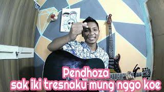 #StoryWa #pendhoza #sekoatimu Pendhoza - sak Iki tresnoku Yo mung nggo koe || Cover by ngepe'enz