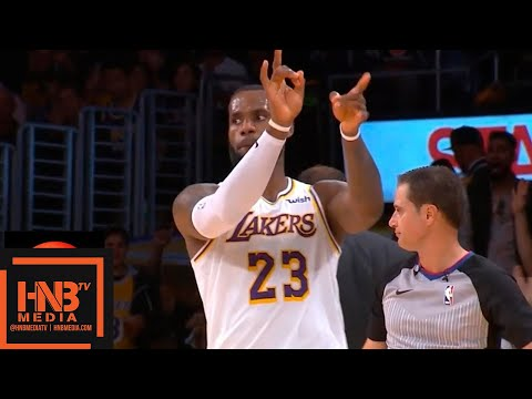 Los Angeles Lakers vs Phoenix Suns 1st Half Highlights | 12.02.2018, NBA Season