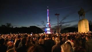 2017 Bastille Day Paris Eiffel Tour Fireworks