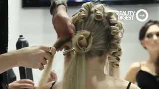 Georgy Kot Hair tutorial. Rose.