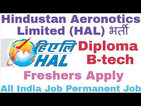 Hindustan Aeronotics   Limited (HAL) Recruitment For Various