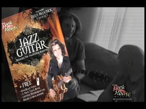 Alex Skolnick Jazz Guitar 3 DVD Set for Rock House