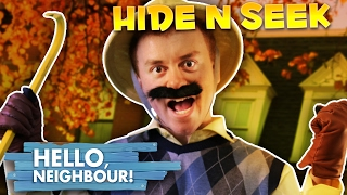 HELLO NEIGHBOR REAL LIFE HIDE AND SEEK CHALLENGE!