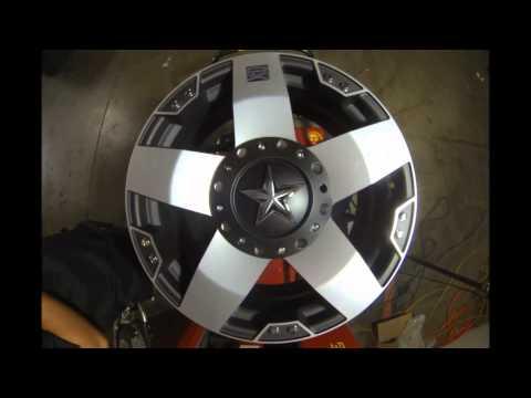 KMC XD Series Rockstar 775 Black Silver