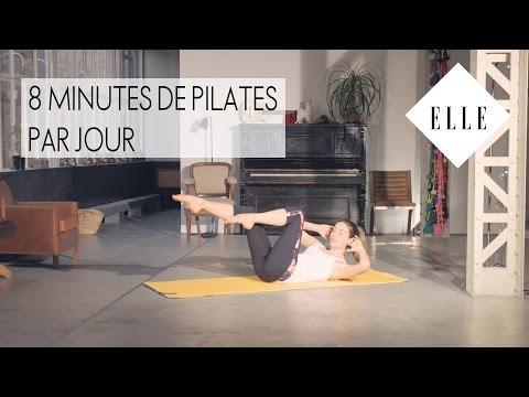 8 minutes de Pilates par jour┃ELLE Pilates