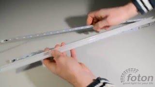 видео светодиодная лента на алюминиевой основе