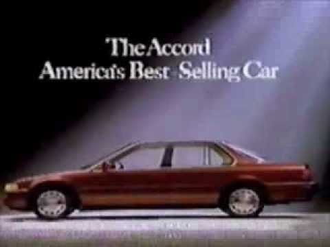 Honda Accord Commercial 1992 Youtube