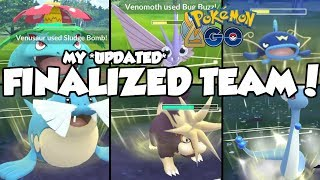 MY *UPDATED* FINALIZED TIMELESS TEAM! Pokemon GO PvP Timeless Cup Great League Matches
