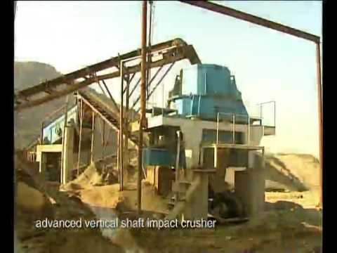 Powerful sand making machines are working in Sand Making Plant