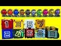 파워레인저 애니멀포스 갤럭시포스 123456789 10 큐브 스타볼 장난감 Power rangers Number toys