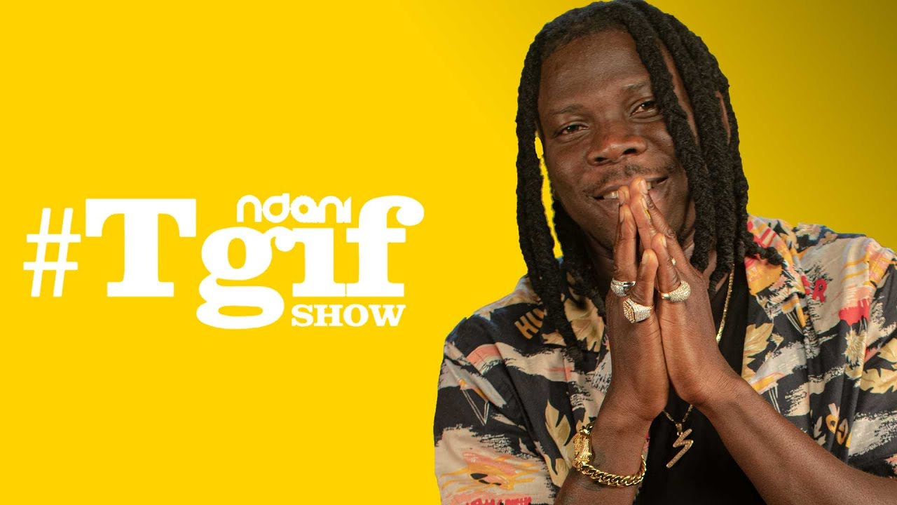 Download Stonebwoy on the NdaniTGIFShow
