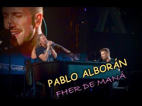 """Pablo Alborán Y Fher De Maná Cantaron """"Rayando El Sol"""" En Miami."""