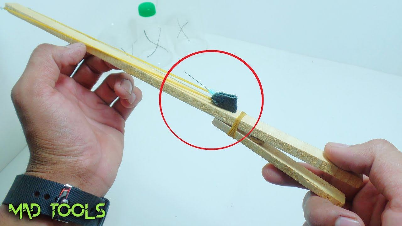 Awesome Homemade Easy Weapons idea । Useful DIY । Mad Tools - YouTube