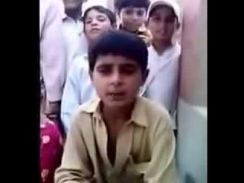 Dadyal a young boy sings challa from Dadyal Azaad Kashmir
