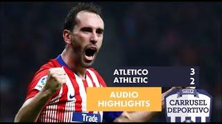 Atlético de Madrid vs Athletic Club, 3-2: resumen de la remontada del partido