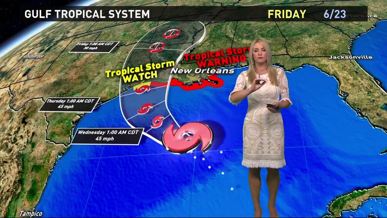 Houston Gulf Weather Forecast Update Youtube
