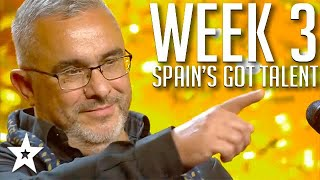 Spain's Got Talent 2021 AUDITIONS | WEEK 3 | Got Talent Global