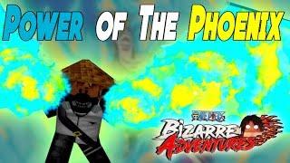 Phoenix DevilFruit OP!? One Piece Bizarre Adventures - Roblox