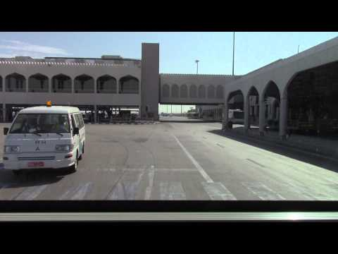Bus shuttle to the jet (Muscat Airport / OMAN AIR A330)