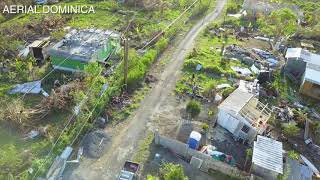 �������� ���� GRANGE 2 WEEKS AFTER HURRICANE MARIA | AERIAL DOMINICA ������